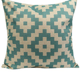 Vintage Geometric Flower Cotton Linen Throw Pillow Case Cushion Cover Home A6UL-Dollar Bargains Online Shopping Australia