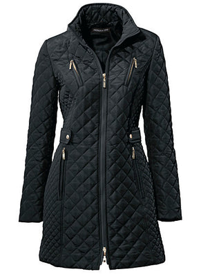 Ladies diamond quilting slim coat women padded jacket new fashion jacket-Dollar Bargains Online Shopping Australia