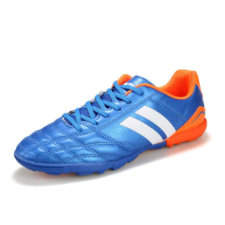 lan se / 5.5Size 33-44 TF Men Soccer Shoes Football Boots Adults Boy Kid Hard Count Trainers Sports Sneakers Shoes Indoor Soccer Shoes Men