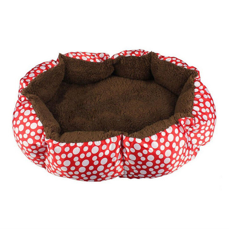 Red / 40cm 30cm 10cmPet Products Cotton Pet Dog Bed for Cats Dogs Small Animals Bed House Pet Beds Cushion