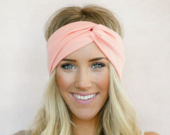 Twist Elasticity Turban Headbands for Women Sport Head band Yoga Headband Headwear Hairbands Bows Girls Hair Accessories A0406-Dollar Bargains Online Shopping Australia