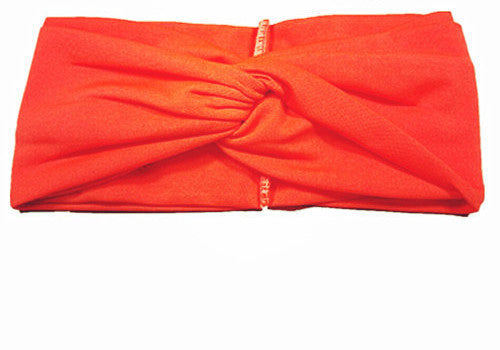 0754c91e2 Twist Elasticity Turban Headbands for Women Sport Head band Yoga Headband  Headwear Hairbands Bows Girls Hair