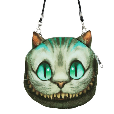Women Cute MIni Bag Cat Face Cartoon Print Shoulder Bag Zipper Closure Crossbody Bag Coin Purse Clutch Bag 17 Types Pouch Bag - Dollar Bargains - 1
