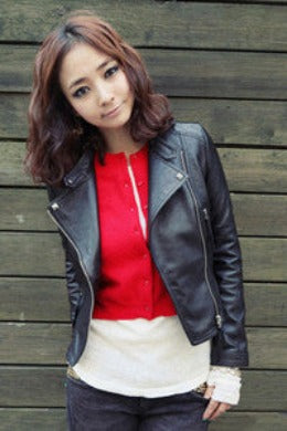 New Arrival Autum & Winter Women Motorcycle Leather Jacket Slim Casual Coat-Dollar Bargains Online Shopping Australia