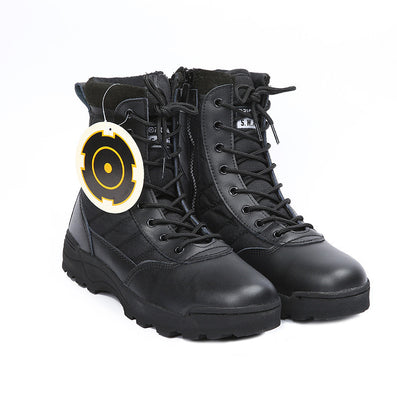 Retro Combat Boots Winter England-style Fashionable Men's Short Shoes Military Boots-Dollar Bargains Online Shopping Australia