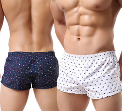 Men Underwear Boxer Shorts Trunks Slacks Cotton Men Boxer Shorts Underwear Printed Men Shorts Home Underpants std05-Dollar Bargains Online Shopping Australia