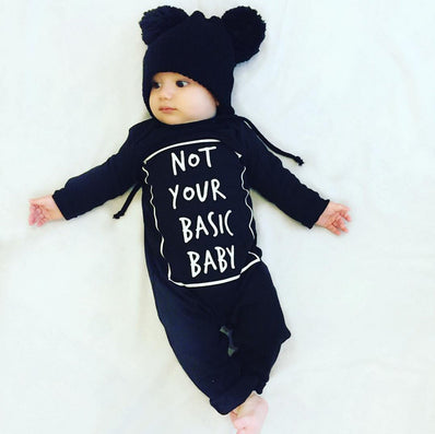 New fashion baby boy clothes long sleeve baby rompers newborn cotton baby girl clothing jumpsuit infant clothing-Dollar Bargains Online Shopping Australia