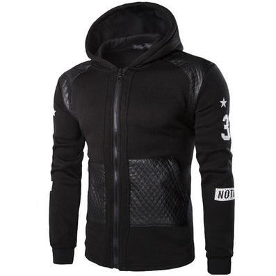 Fashion Mens Hoodies And Sweatshirts Oversized Hombre Hip Hop Men Hooded Sweatshirt Plus Size 3XL Hoodies Zipper Streetwear-Dollar Bargains Online Shopping Australia
