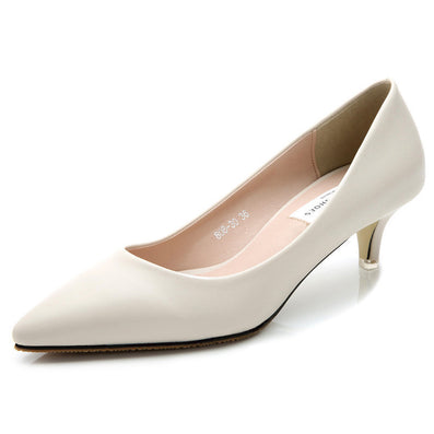 magazine Fashion women pumps 5cm sheepskin women shoes low heels pointed toe comfortable high quality office heels ALF143-Dollar Bargains Online Shopping Australia