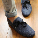 2016 new Top quality Mens Canvas Casual Lace Slip On Loafer Shoes Moccasins Driving Shoes men flats - Dollar Bargains - 2