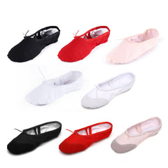 High quality Child Girl Women Soft split Sole Breathable leather tip Dance Ballet Shoes Comfortable Breathable Fitness-Dollar Bargains Online Shopping Australia