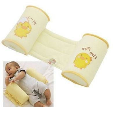 Free Shipping 1 Piece Comfortable Cotton Anti Roll Pillow Lovely Baby Toddler Safe Cartoon Sleep Head Positioner Anti-rollover - Dollar Bargains