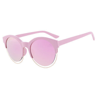 AOFLY Fashion Women SIDERAL Sunglasses Brand Design Retro Star Style Cat eye Round Mirror Sunglasses Oculos de sol UV400 AF2103-Dollar Bargains Online Shopping Australia
