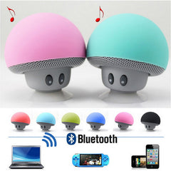 Mini Mushroom Wireless Bluetooth 4.1 Speaker with Mic Portable Waterproof Shower Stereo Subwoofer For Mobile Phone iPhone Tablet-Dollar Bargains Online Shopping Australia