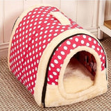 Multifuctional Dog House Nest With Mat Foldable Pet Dog Bed Cat Bed House For Small Medium Dogs Travel Pet Bed Bag Product-Dollar Bargains Online Shopping Australia