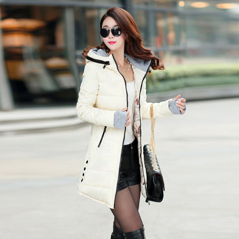 Hot Sales 2016 Fashion Slim New Winter Down Jacket Coat Cotton Down Jacket Sections Ladies Padded Jacket  Top Quality Low Price - Dollar Bargains - 1