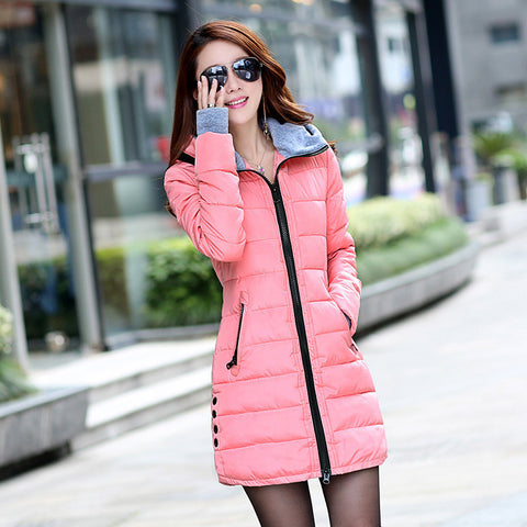 Hot Sales 2016 Fashion Slim New Winter Down Jacket Coat Cotton Down Jacket Sections Ladies Padded Jacket  Top Quality Low Price - Dollar Bargains - 14