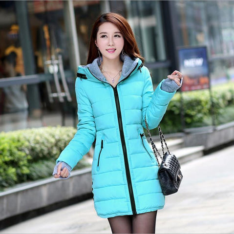 Hot Sales 2016 Fashion Slim New Winter Down Jacket Coat Cotton Down Jacket Sections Ladies Padded Jacket  Top Quality Low Price - Dollar Bargains - 13