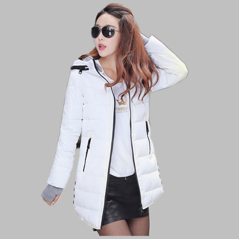 Hot Sales 2016 Fashion Slim New Winter Down Jacket Coat Cotton Down Jacket Sections Ladies Padded Jacket  Top Quality Low Price - Dollar Bargains - 9