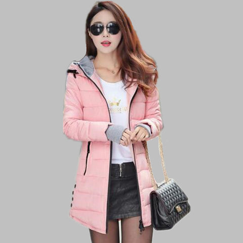 Hot Sales 2016 Fashion Slim New Winter Down Jacket Coat Cotton Down Jacket Sections Ladies Padded Jacket  Top Quality Low Price - Dollar Bargains - 7