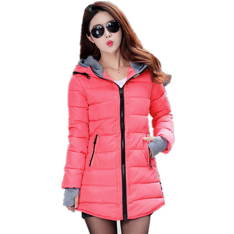 Hot Sales 2016 Fashion Slim New Winter Down Jacket Coat Cotton Down Jacket Sections Ladies Padded Jacket  Top Quality Low Price - Dollar Bargains - 11