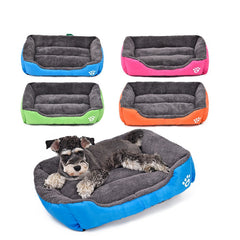 Pet Dog Bed Warming Dog House Soft Material Pet Nest Candy Colored Dog Fall and Winter Warm Nest Kennel For Cat Puppy 5 Colors-Dollar Bargains Online Shopping Australia