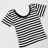 New Women Best Sell U neck Sexy Crop Top Ladies Short Sleeve T Shirt Tee Short T-shirt Basic Stretch T-shirts-Dollar Bargains Online Shopping Australia