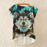 2016 Brand New Cotton cropped t Shirt Women Short Sleeve t-shirts o-neck Causal loose Magic Unicorn T Shirt Summer top for women - Dollar Bargains - 18