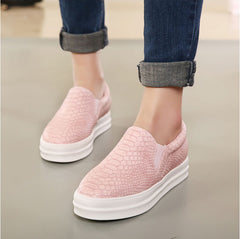 New Women Loafers Casual Flats Heels Round Toe Black Pink Loafer Shoes Autumn Comfort Women Shoes-Dollar Bargains Online Shopping Australia