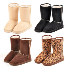Fashion Women Winter Warm Mid calf Snow Cold Weather Boots Shoes-Dollar Bargains Online Shopping Australia