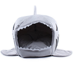 2 Size Pet Products Warm Soft Dog House Pet Sleeping Bag Shark Dog Kennel Cat Bed Cat House cama perro-Dollar Bargains Online Shopping Australia