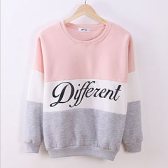 New Letter Printed Women Pullover Tops Sweat Shirt Blouse Sweater Thick Tracksuits Sudaderas Y8-Dollar Bargains Online Shopping Australia