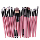 20pcs Eye Makeup Brushes Set Eyeshadow Blending Brush Powder Foundation Eyeshadading Eyebrow Lip Eyeliner Brush Cosmetic Tool - Dollar Bargains - 7