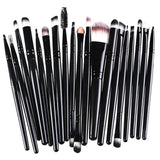 20pcs Eye Makeup Brushes Set Eyeshadow Blending Brush Powder Foundation Eyeshadading Eyebrow Lip Eyeliner Brush Cosmetic Tool - Dollar Bargains - 6