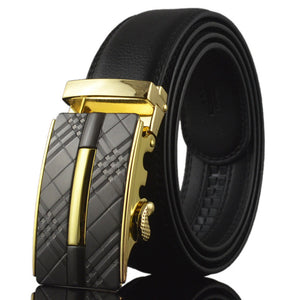 Brand designer mens belts luxury real leather belts for men metal buckle man Jeans pants genuine leather belt male strap W165-Dollar Bargains Online Shopping Australia