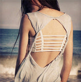 Fashion Hollow Out stripe Camis Women tops Bra Crop Top Tank Beach Vest Sexy-Dollar Bargains Online Shopping Australia