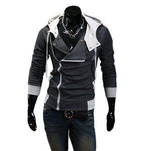 9colors M-6XL 2015 Hoodies Men Sweatshirt Male Tracksuit Hooded Jacket Casual  Male Hooded Jackets moleton Assassins Creed - Dollar Bargains - 1