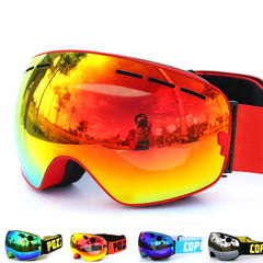 New COPOZZ brand ski goggles double UV400 anti-fog big ski mask glasses skiing men women snow snowboard goggles GOG-201-Dollar Bargains Online Shopping Australia