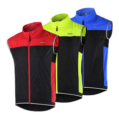 Cycling Vest Windproof Waterproof MTB Bike Bicycle Breathable Reflective Clothing Cycling Jacket Sleeveless 15V1-Dollar Bargains Online Shopping Australia