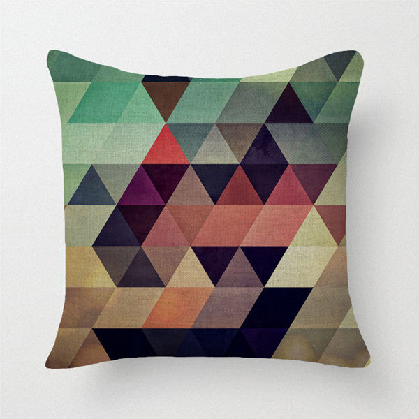 number 945x45cm 3D geometric wave lantern cushion cover decorative throw pillows case for sofa home decor pillowcase almofadas