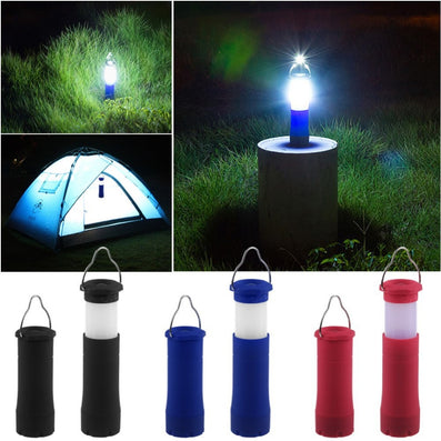 3 Colors 3W Tent Camping Lantern Light Hiking LED Flashlight Torch Outdoor Lamp-Dollar Bargains Online Shopping Australia