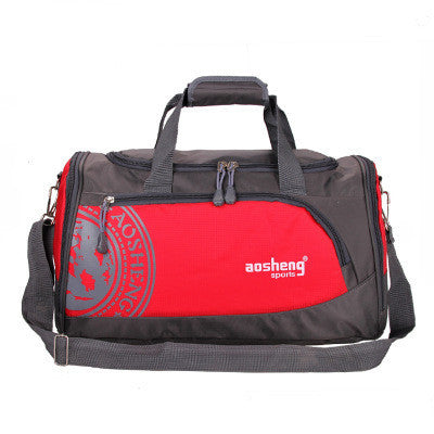 RedNylon Outdoor Male Sport Bag Professional Men And Women Fitness Shoulder Gym Bag Training Female Yoga Duffel Bag
