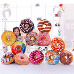 Funny Cartoon Sweet chocolates Donuts Sofa and chair back Cushion Car Mats Student pillow Toy-Dollar Bargains Online Shopping Australia