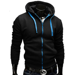 Fashion Brand Hoodies Men Casual Sportswear Man Hoody Zipper Long-sleeved Sweatshirt Men Five Colors Slim Fit Men Hoodie-Dollar Bargains Online Shopping Australia