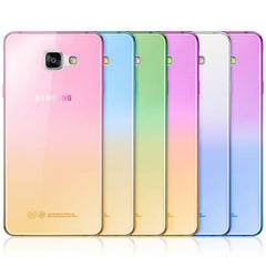 Fashion Soft TPU Gradient Color Back Cover Case for Samsung Galaxy A3 A5 A7 J1 J3 J5 J7 S3 S4 S5 S6 S7 Edge Grand Prime-Dollar Bargains Online Shopping Australia