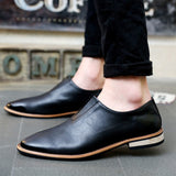 2016 Spring Autumn Loafers Men Oxford Flat Shoes Top brand Men Moccasins Shoes Leather Men Shoes Casual zapatos hombre EPP046 - Dollar Bargains - 1