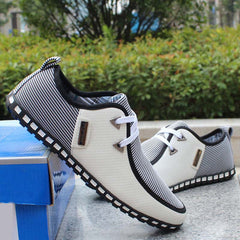 Spring breathable doug men loafers casual shoes increased within flats the British fashion lace up shoes-Dollar Bargains Online Shopping Australia