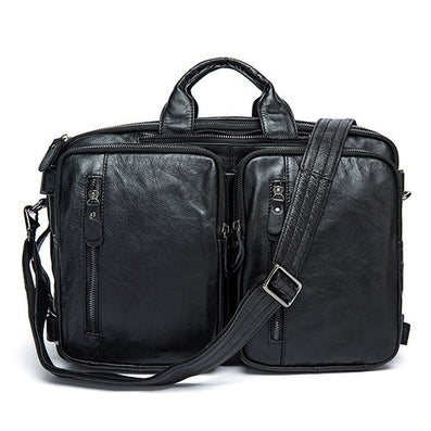 100% Genuine leather men messenger bags business bag laptop men bags men's briefcase tote shoulder laptop men's travel bag 432-Dollar Bargains Online Shopping Australia