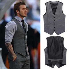 New British style Men's Fashion Joker Trend Waistcoat Leisure Suit Vest HB88-Dollar Bargains Online Shopping Australia