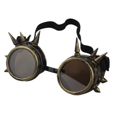 Durable  lunette de soleil  Rivet Steampunk  sunglasses women Windproof for oculos Mirror Vintage Gothic Glasses oculos luneta - Dollar Bargains - 6